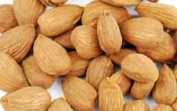 Almonds are a good snack if you are not hungry.