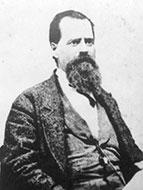 The inventor of the Mason Jar, John Landis Mason