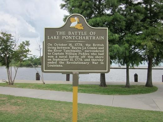 The American Revolution ended in Lousiana here on September 10, 1779.