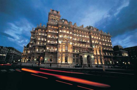 Langham London Hotel, London, England