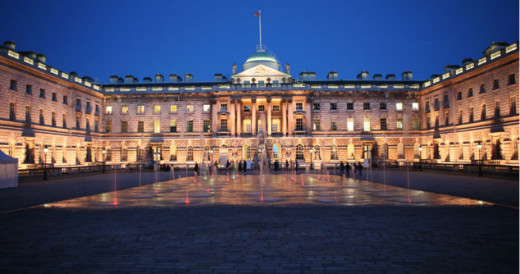 Somerset House - where my law faculty is based.