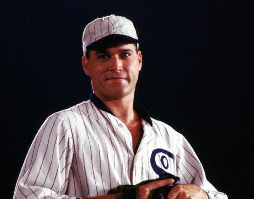 Shoeless Joe Jackson (this from Field of Dreams) and his teammates were banned for life from baseball