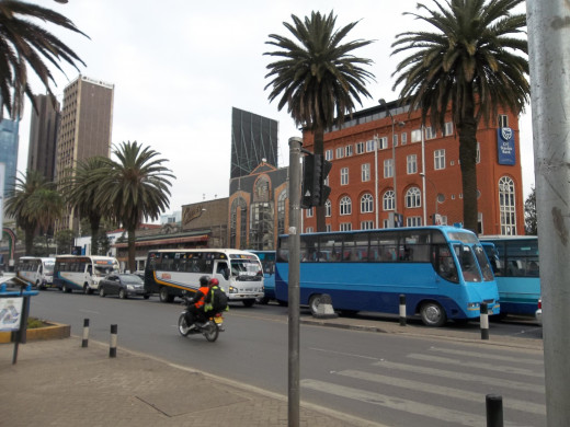 Urban mass transport in Nairobi
