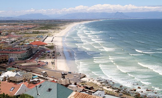 Muizenberg from Boyes Drive