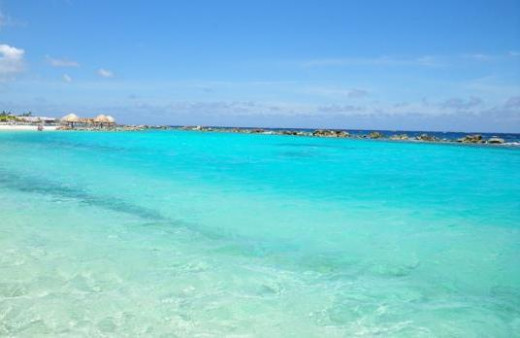 Beautiful Caribbean water!