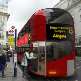 Plus you get to use the snazzy new London buses with back entrances!