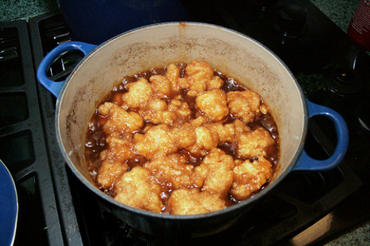 Maple Syrup Dumplings