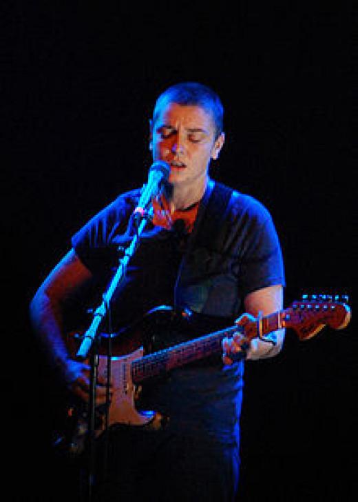 Sinead O'Connor performance
