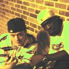 Reality on the left & Mike on the right Members of the Rap Group FlowCaine