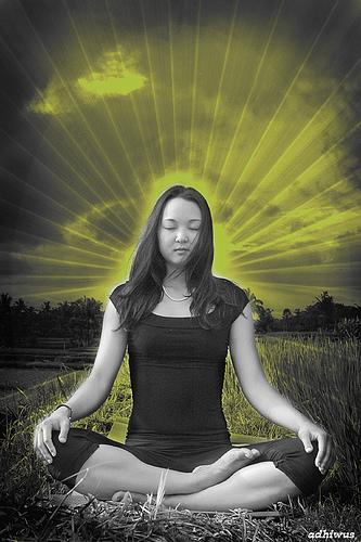 Jennifer in Meditation from adhiwus.com Photography- Bali flickr.com