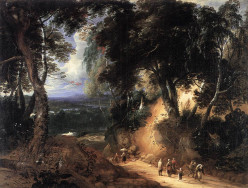 'The Soignes Forest', by Lodewijk de Vadder, early 17th century