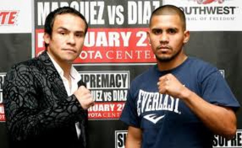 Juan Manuel Marquez beat Juan Diaz twice. Their first encounter was named Fight of the Year by Ring Magazine.