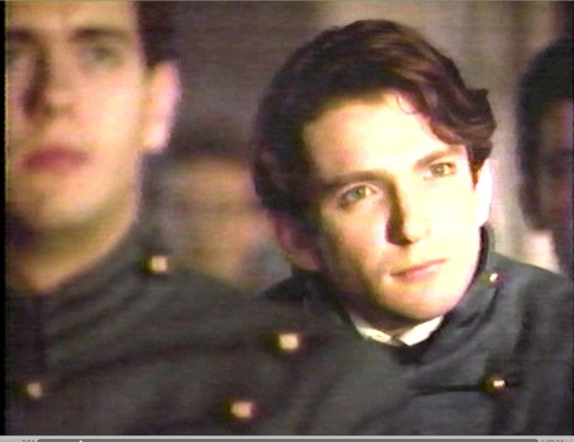 Dan Futterman as Shelby Peyton, a West Point cadet with a decision to make.