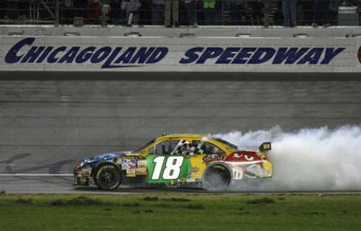 Kyle Busch has won at Chicago before. Can he do it again?
