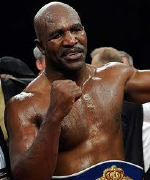 Evander Holyfield has done commercials for Burger King and Diet Coke.