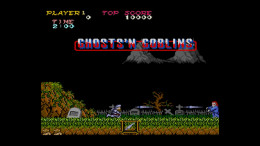 You started Ghosts n Goblins in the graveyard area