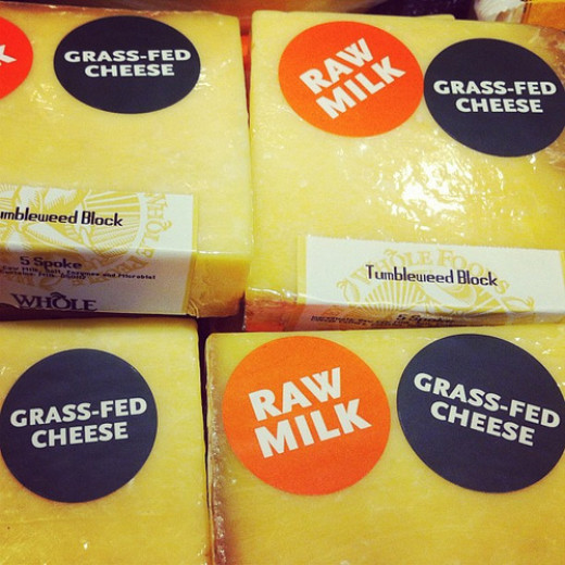 Choose raw milk products where possible.