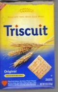 Our tainted food supply: Triscuit by Nabisco. One more reason why GMO labeling is imperative.