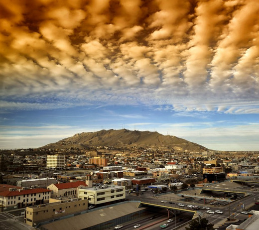 El Paso during the day.