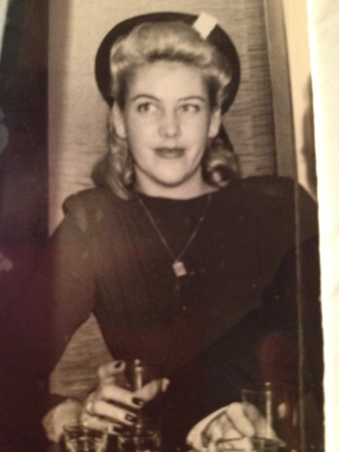 This is my mother, the most beautiful woman I hardly knew