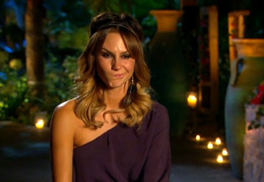 Keltie on The Bachelor