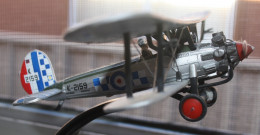 Model of the 1931 Bristol Bulldog.
