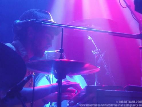 copyright: Bob Battams photographer par excellent of live concert bands