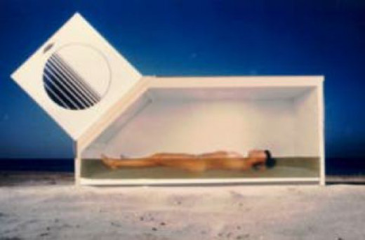 Cross section of Samadhi isolation tank.
