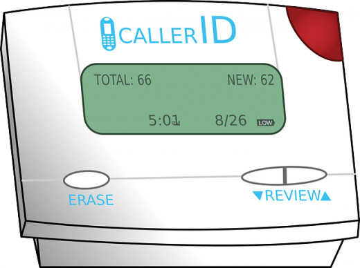 Caller ID is a great way to see who is calling before picking up the phone.