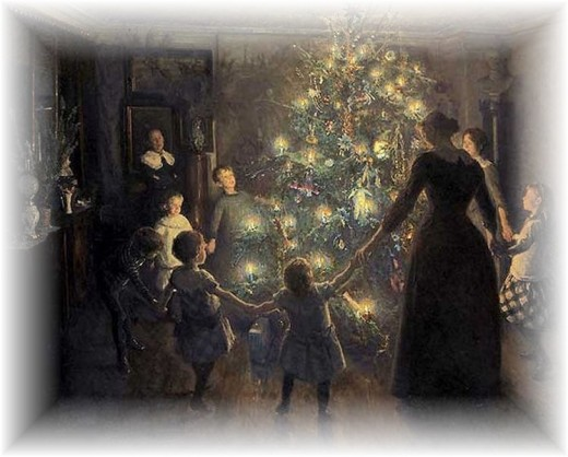 Our ancestors didn't cut their Christmas trees down, they left them in the forest and took decorations to the tree.