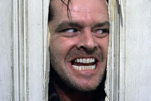 Nothing says psychopath like Jack's role in the Shining.