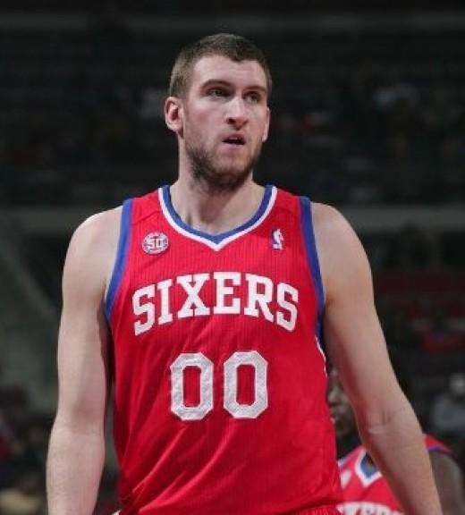 Spencer Hawes, C, Philadelphia 76ers
