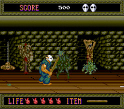 Splatterhouse Arcade Game
