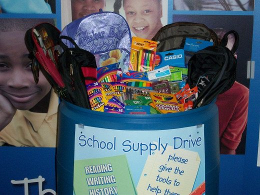 Gdavis2012 Sleep Country Foster Kids Program in-store donation bin