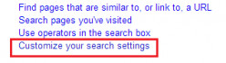 How to get 100 results per page on Google search