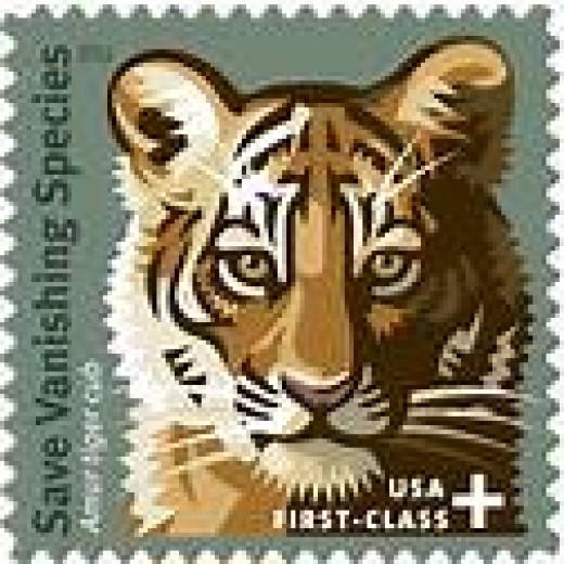 Save Vanishing Species stamp, United States stamp