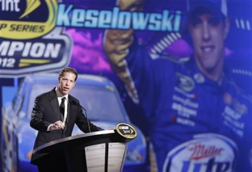Keselowski didn't just win a trophy last year. His team earned millions of dollars from NASCAR by winning the Chase