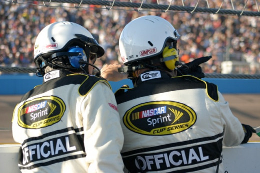 Does NASCAR now change the decisions made by its on-track officials as well?