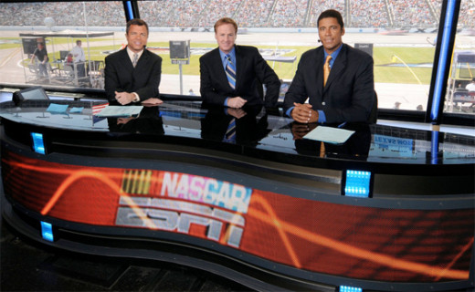 ESPN stuck with the coverage on Sunday despite the extended delay (and made sure its audience knew where the race was). Will NBC have the ability to do as well?