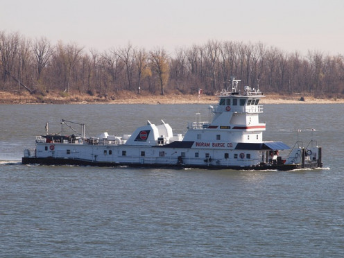 Tugboat on the Ohio River