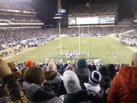 Philadelphia Eagles game vs Minnesota Vikings - Vikings won