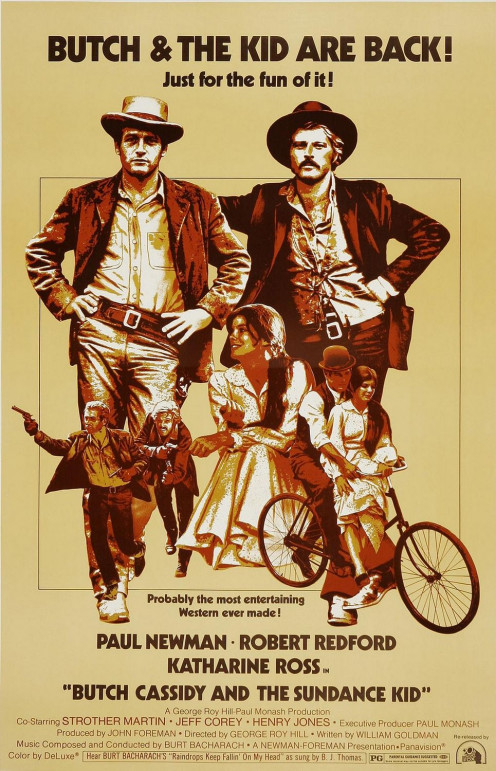 Hollywood glamorizes the outlaws and makes a movie with comedic satire.