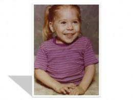 Rose Siggins as a child