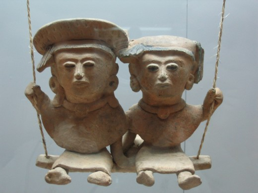 Fraternal love (Prehispanic sculpture from 250–900 A.D., of Huastec origin). Museum of Anthropology in Xalapa, Veracruz, Mexico (from http://en.wikipedia.org)