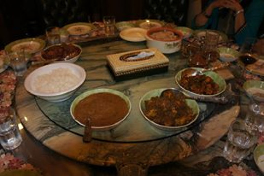 Thai curry and other delicacies