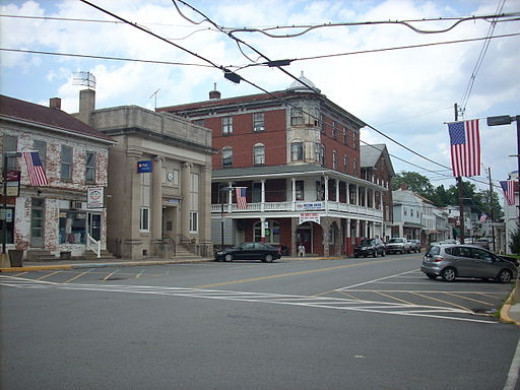 Duncannon was a friendly Appalachian Trail town with an interesting and inexpensive victorian-style hotel that welcomed hikers.