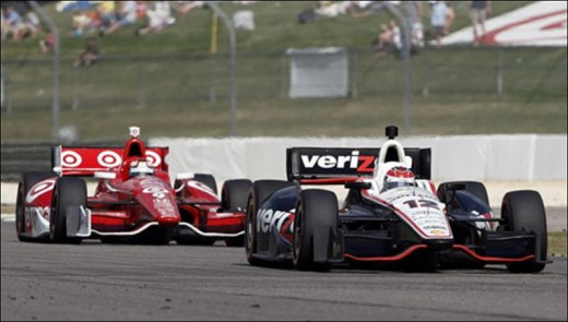 Penske and Ganassi cars have clashed multiple times this year in IndyCar