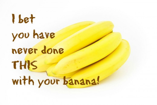 Banana Peel Uses