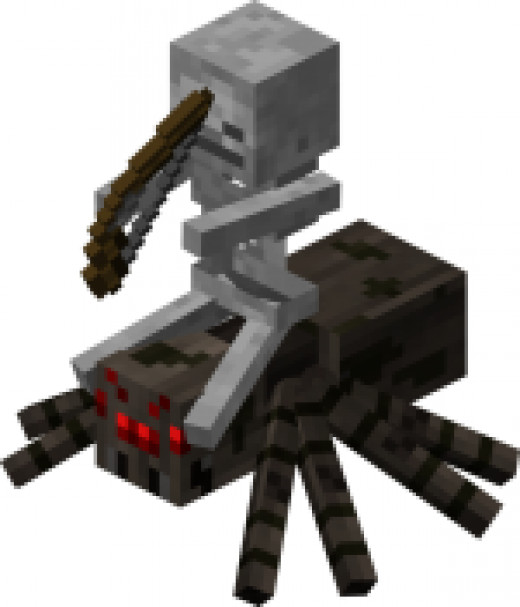 A tough foe. Even armed with a diamond sword, this enemy can be very hard to beat.