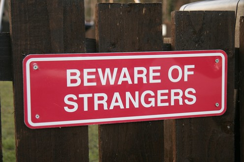 """The """"Don't talk to strangers"""" warning are not just for kids."""